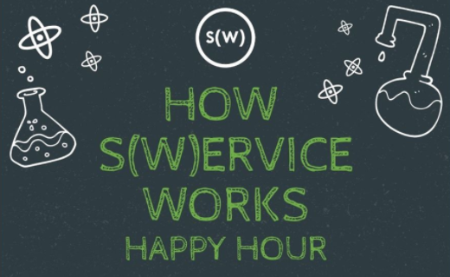 How S(w)ervice Works Happy Hour at Lumbar