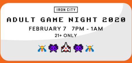 Iron City Game Night
