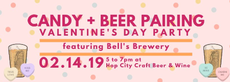 Candy & Beer Pairing at Hop City