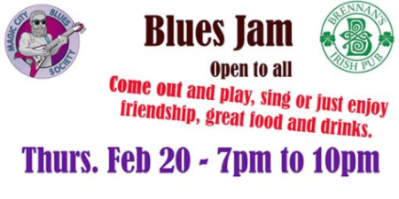 Blues Jam at Brennan's