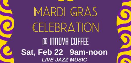 Innova Coffee Mardi Gras