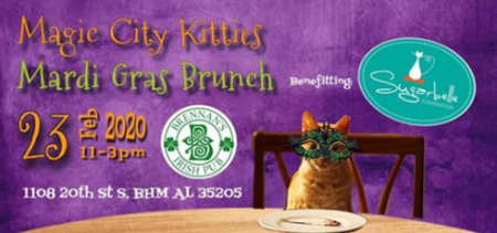Magic City Kitties Mardi Gras Brunch