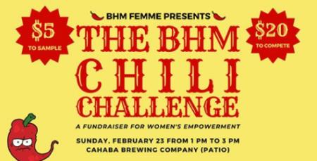 BHM FEMME Chili Challenge