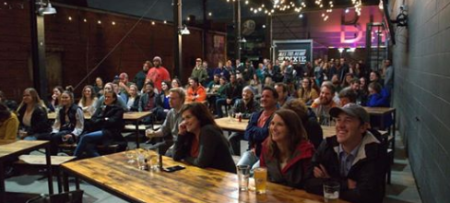 Funny Free Fridays at Good People Brewing