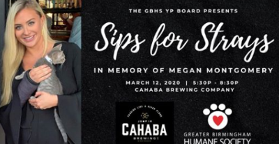 Sips For Strays GBHS at Cahaba Brewing Co.