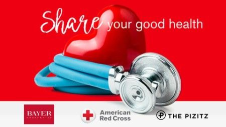 Share your good health Blood Drive
